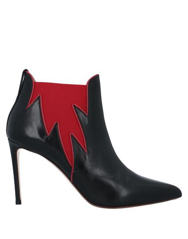 Francesco Russo Elasticated Side Panel Boots In Black