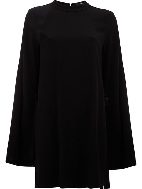Ellery Purify Flare Sleeve Tunic In Black