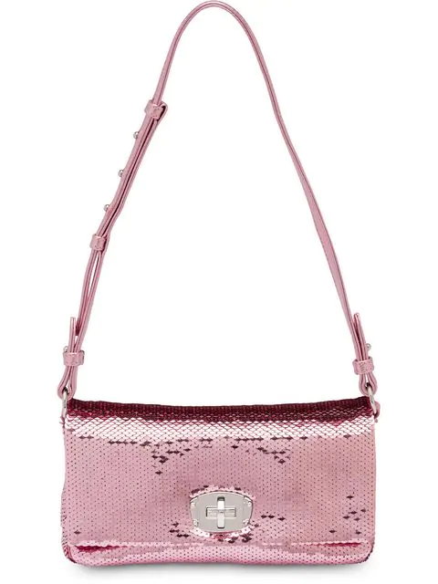 a60a1909729f6 Pink Sequin Shoulder Bag