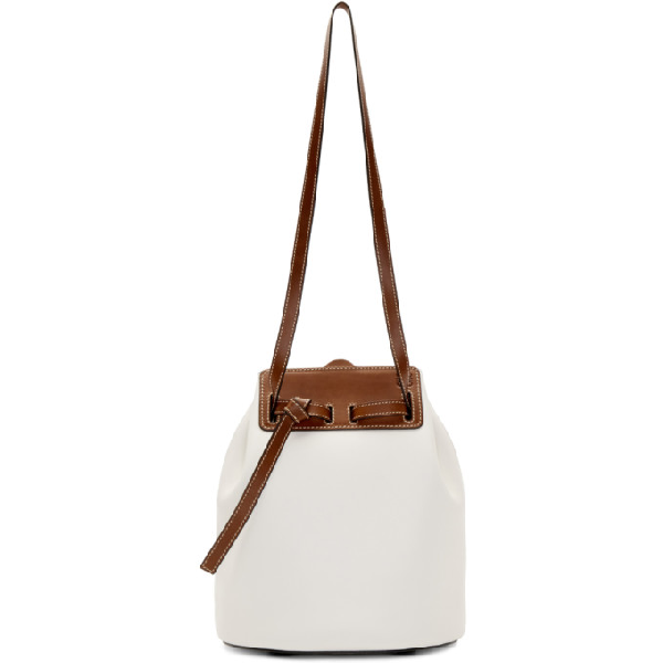 Loewe 'Lazo' Leather Bucket Bag In 1950 Soft W