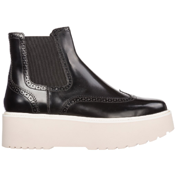 Hogan Chelsea Ankle Boots In Multi