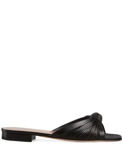 Gucci 'Sandalo' Pantoletten In Black