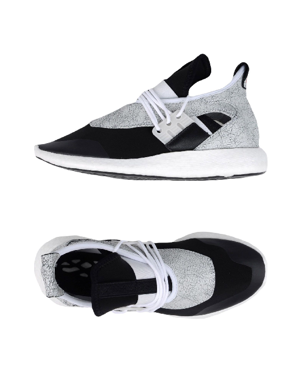 Y-3 Women's Elle Run Sneakers In White And Black