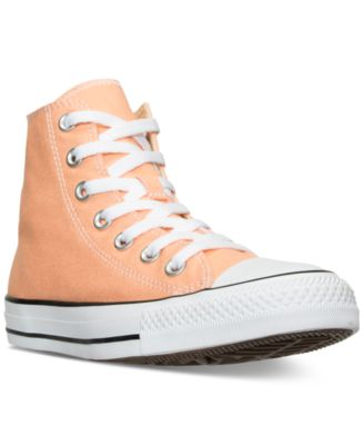 Converse Women's Chuck Taylor Hi Casual Sneakers From Finish Line In Sunset Glow