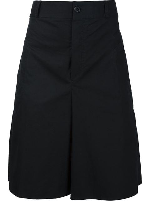 Damir Doma Eyelet Detail Cropped Shorts In Black