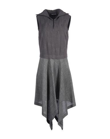 Damir Doma Midi Dress In Steel Grey