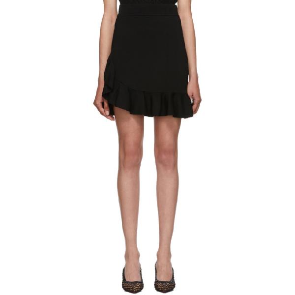 Altuzarra Black Ziggy Skirt In 001 Black