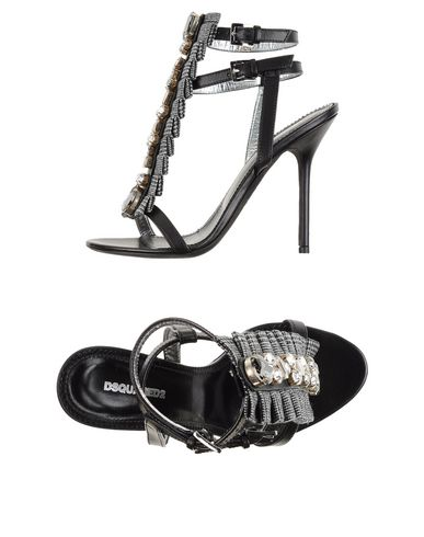 Dsquared2 Sandals In Black
