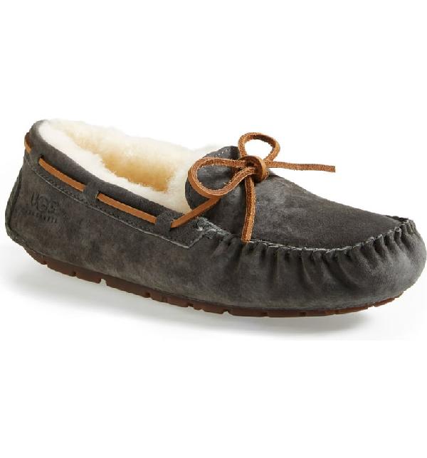 580733c210e Women's Dakota Moccasin Slippers in Pewter