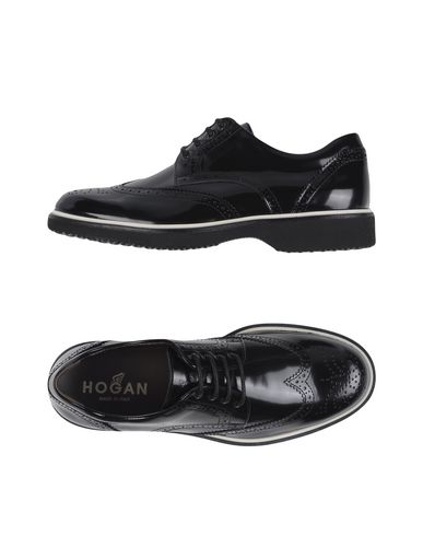 Hogan Laced Shoes In Black