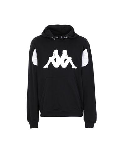 Kappa Hooded Sweatshirt In Black