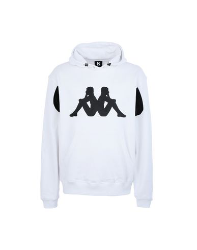 Kappa Hooded Sweatshirt In White