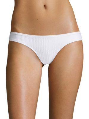 Heidi Klein Classics Hipster Bikini Bottom In White