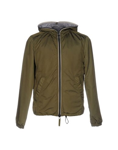 Duvetica Down Jacket In Military Green