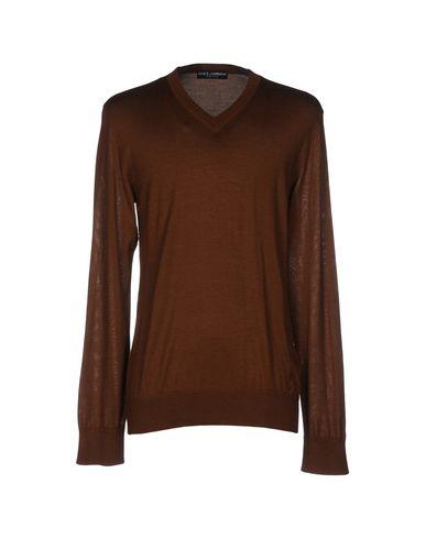 Dolce & Gabbana Sweaters In Brown