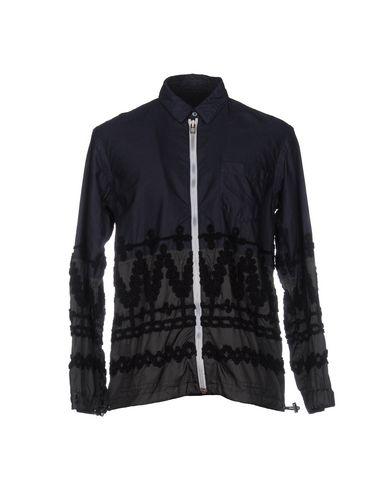 Sacai Jackets In Dark Blue