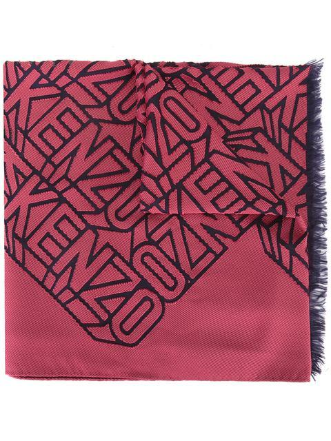 Kenzo Flying  Scarf - Red