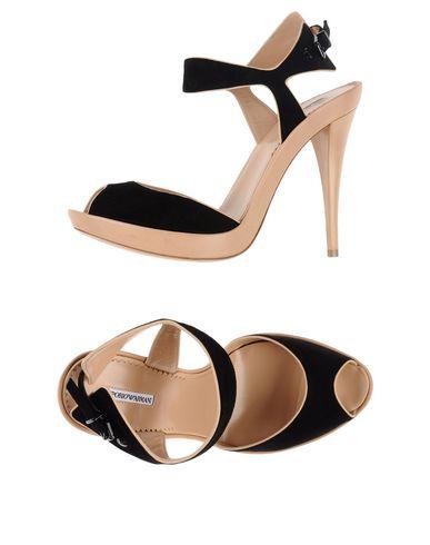 Emporio Armani Sandals In Black
