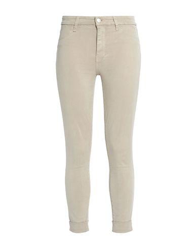 J Brand Cropped Sateen Skinny Pants In Stone