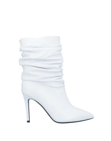 Erika Cavallini Ankle Boot In White