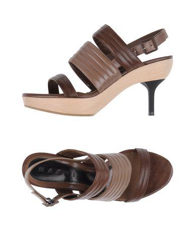 Marni Sandals In Cocoa