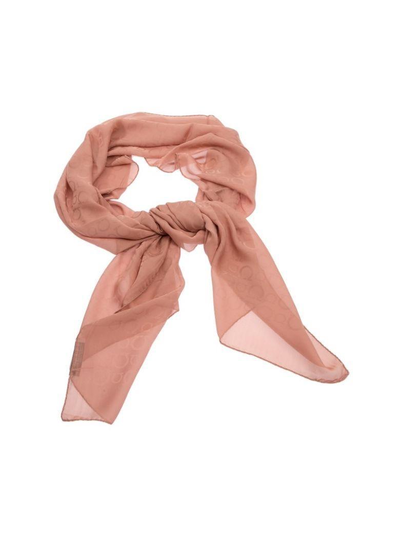 Salvatore Ferragamo Silk Scarf In Pink