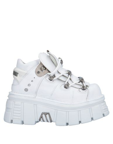 New Rock Sneakers In White