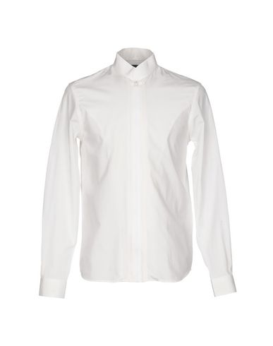 Diesel Solid Color Shirt In White