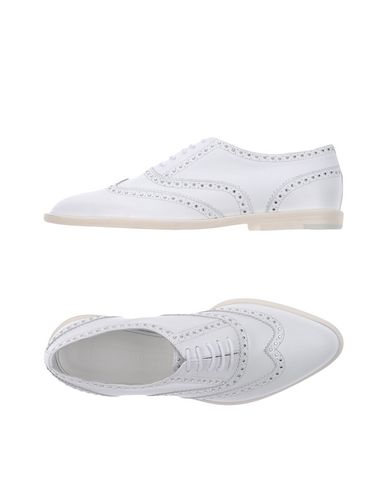 Veronique Branquinho Laced Shoes In White