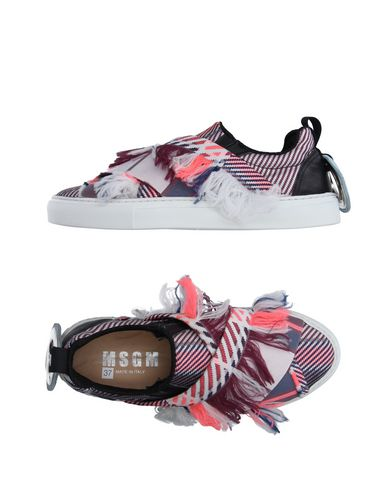 Msgm Sneakers In Purple