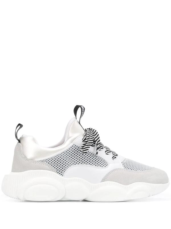 Moschino Teddy Run Sneakers - White