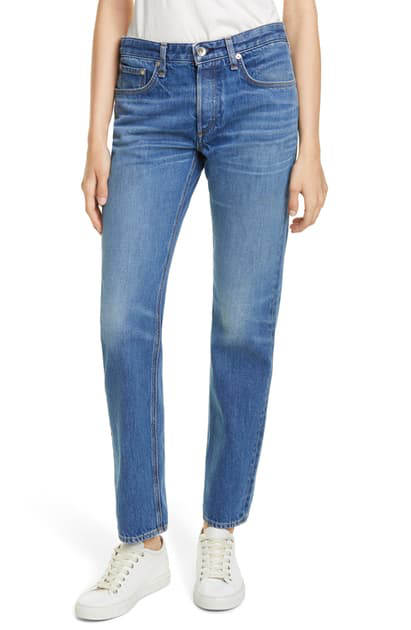 Rag & Bone Rosa Mid-Rise Boyfriend Jeans In Brees