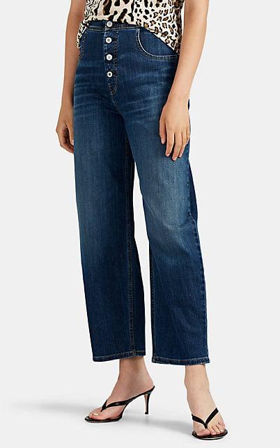 Nili Lotan Toledo Wide-Leg Jeans In Blue