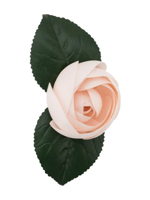 Chanel 2000's Rose Brooch In Pink