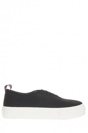 Eytys Black Suede Mother Sneakers