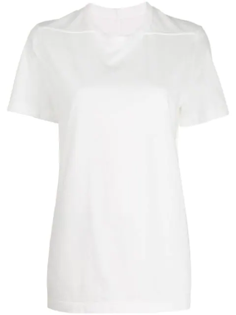 Rick Owens Classic T-shirt In White