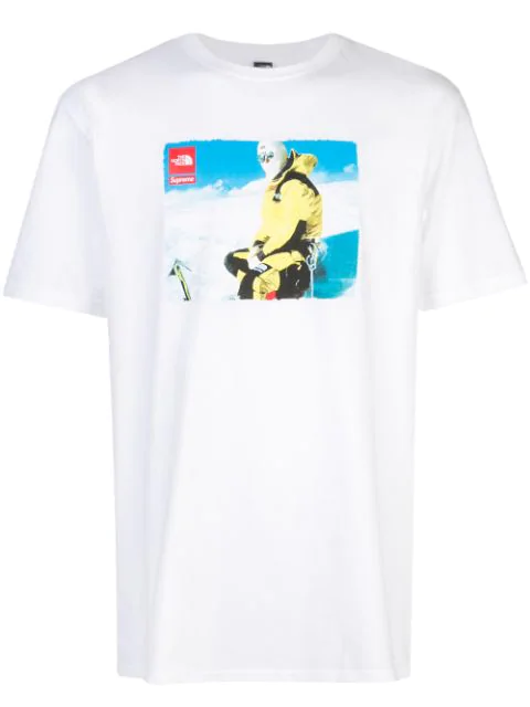Supreme X The North Face T-shirt In White