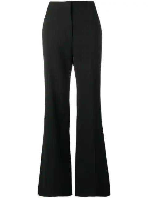 Stella Mccartney Tailored Flared Trousers In Black