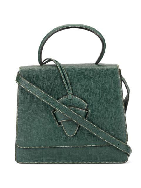 Loewe Barcelona 2way Hand Bag In Green