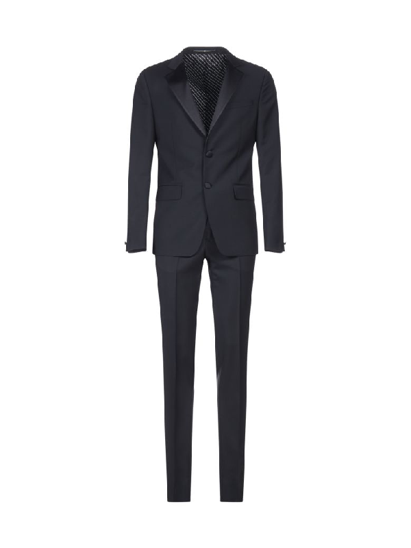 Givenchy Suit In Black