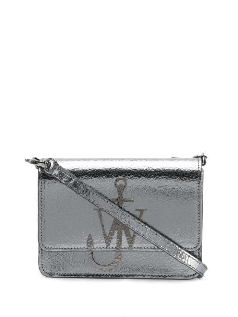 Jw Anderson Anchor Logo Bag In 912 Iron