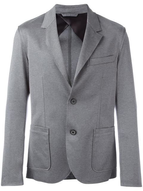 Lanvin Button Up Blazer - Grey