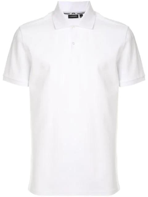 J.lindeberg Klassisches Poloshirt In White