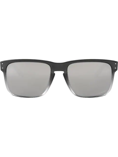 Oakley Holbrook Square Sunglasses In 9102a9 Dark Ink Fade