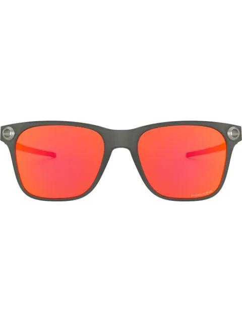 Oakley Catalyst Prizm Ruby Square Mens Sunglasses Oo9272 927225 55 In Orange
