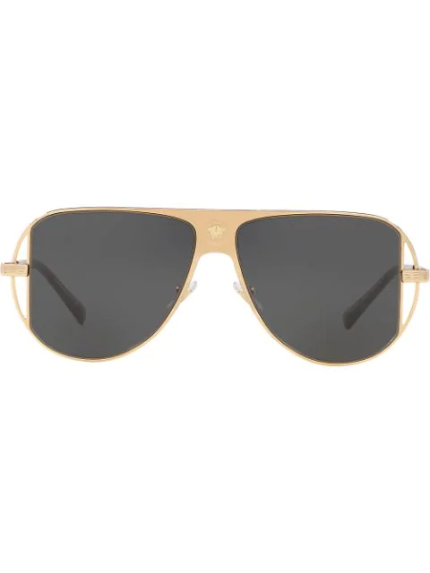 Versace Ve 2212 Sunglasses In Gold