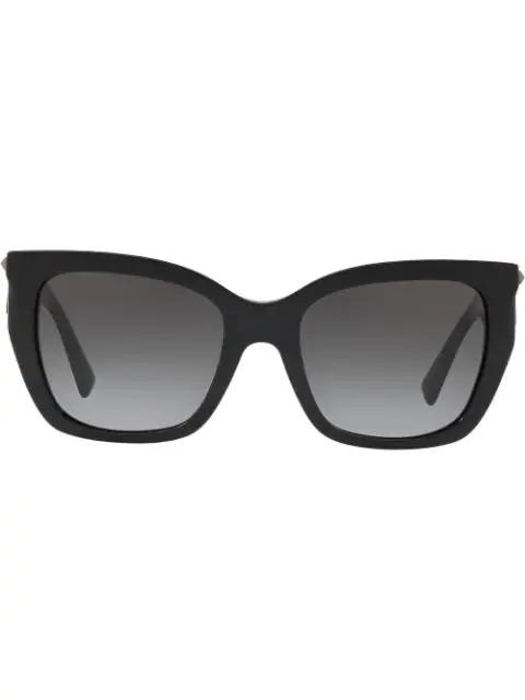 Valentino Sonnenbrille Mit Farbverlauf In Black