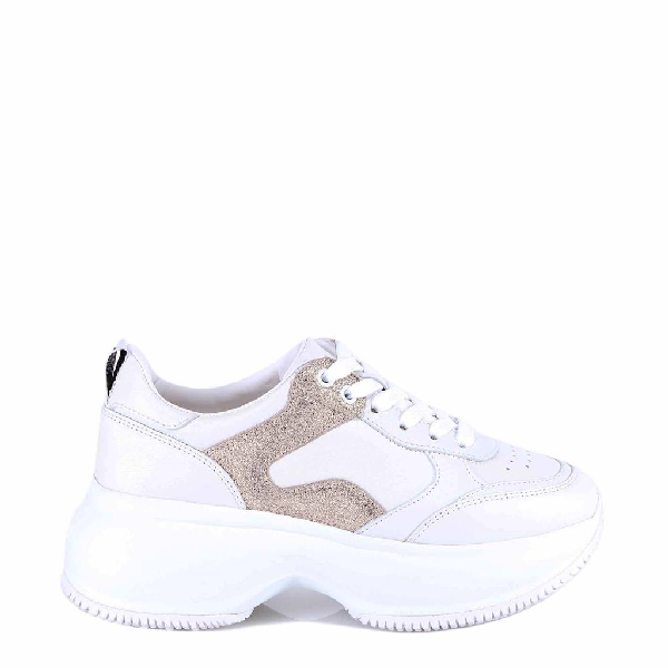 Hogan Active Low Top Sneakers In White