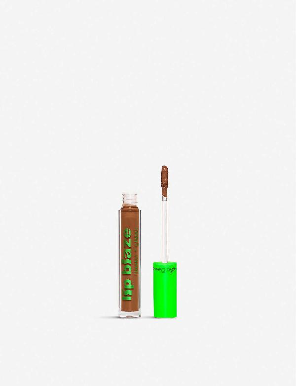 Lime Crime Lip Blaze Cream Liquid Lipstick 3.4ml In Bud
