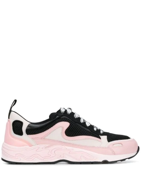 Sandro 'flame' Sneakers In Pink